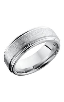 Lashbrook Cobalt Chrome Wedding band CC8REF STONE-POLISH product image