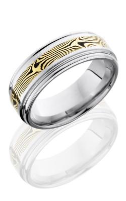 Lashbrook Cobalt Chrome Wedding band CC8REF13-M18KYSH POLISH product image