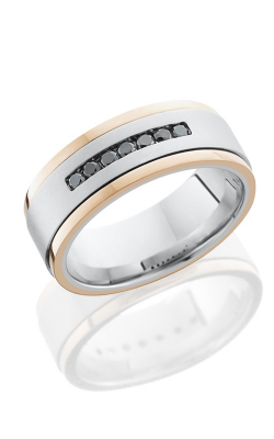 Lashbrook Cobalt Chrome Wedding band CC8FGEW2EDGE1.5 product image