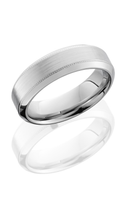 Lashbrook Cobalt Chrome Wedding band CC7HB2UMIL NS SATIN POLISH product image