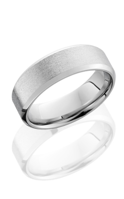 Lashbrook Cobalt Chrome Wedding band CC7B STONE POLISH product image