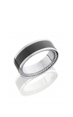 Lashbrook Elysium Wedding Band PLAT8F15SIDEETERN POLISH product image