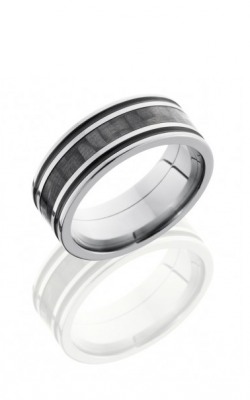 Lashbrook Carbon Fiber Wedding Band C8F1321A 14KY product image