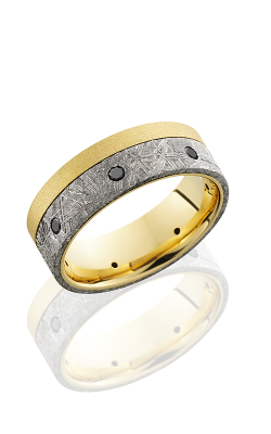 Lashbrook Meteorite Wedding Band 18KY8F15OCE product image