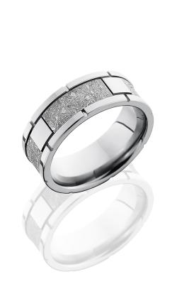 Lashbrook Meteorite Wedding band CC8F4SEG METEORITE product image