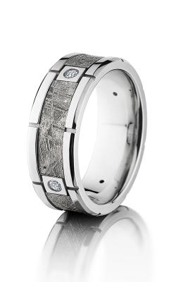 Lashbrook Meteorite Wedding band CC8F4SEG METEORITE4X.07 product image