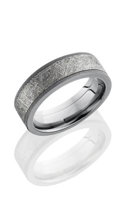 Lashbrook Meteorite Wedding band PF7F15 METEORITE product image