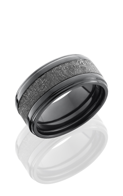 Lashbrook Meteorite Wedding band Z10FGE15 METEORITE product image