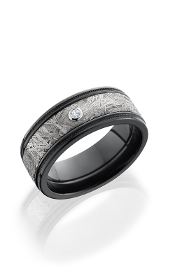 Lashbrook Meteorite Wedding band Z8.5FGEW2UMIL15 METEORDIA.05B product image