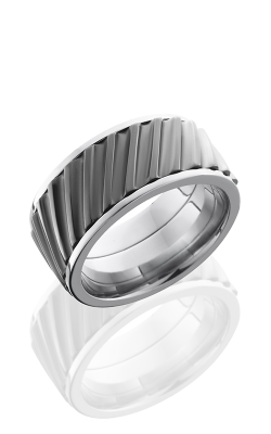 Lashbrook Titanium Wedding band 10FHELICALSPINNER product image