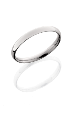 Lashbrook Titanium Wedding band 3D Polish product image