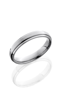 Lashbrook Titanium Wedding band 4FGE SATIN POLISH product image
