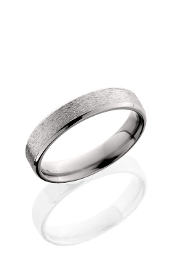 Lashbrook Titanium Wedding band 5B STONE POLISH product image