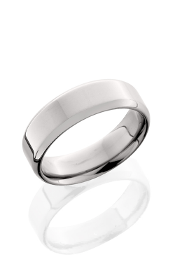 Lashbrook Titanium Wedding band 7B POLISH product image