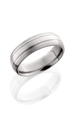 Lashbrook Titanium Wedding band 7D122.5 SSSS SATIN product image