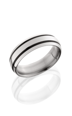 Lashbrook Titanium Wedding band 7D21A POLISH product image