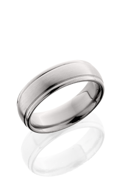 Lashbrook Titanium Wedding band 7HRLDC SATIN POLISH product image