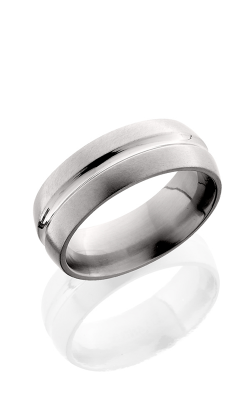 Lashbrook Titanium Wedding band 8DC POLISH SATIN product image