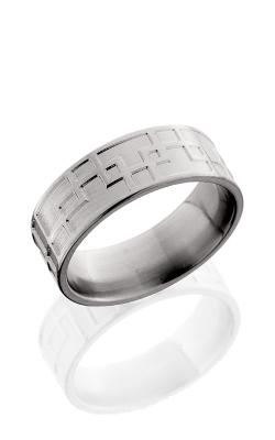 Lashbrook Titanium Wedding band 8F096 POLISH product image