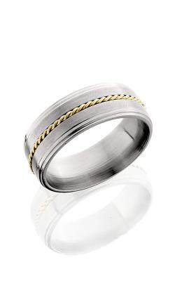 Lashbrook Titanium Wedding band 8FGE11 14KYBRAID product image