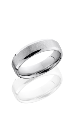 Lashbrook Cobalt Chrome Wedding band CC6B STONE-POLISH product image