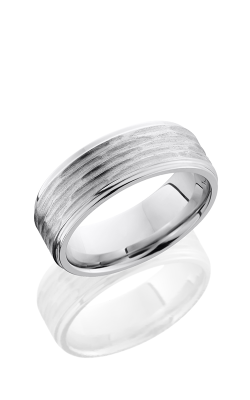 Lashbrook Cobalt Chrome Wedding Band CC8FGE DISC 3-POLISH product image