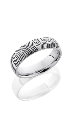 Lashbrook Cobalt Chrome Wedding Band CC6D LCVFINGERPRINT2 product image