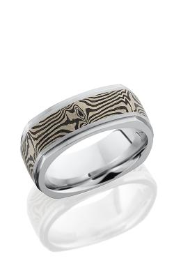 Lashbrook Cobalt Chrome Wedding band CC8.5FGESQ15 M14KWSH ACID product image