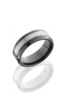 Lashbrook Tungsten Ceramic Wedding Band TCR8335-STONE product image