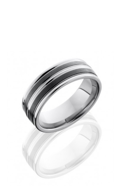 Lashbrook Tungsten Ceramic Wedding Band TCR8347-SATIN product image