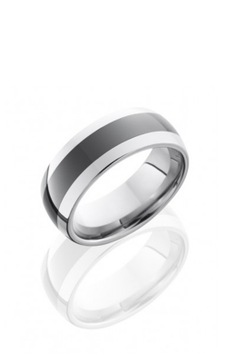 Lashbrook Tungsten Ceramic Wedding band TCR8349-POLISH product image