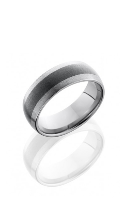 Lashbrook Tungsten Ceramic Wedding band TCR8349-STONE product image