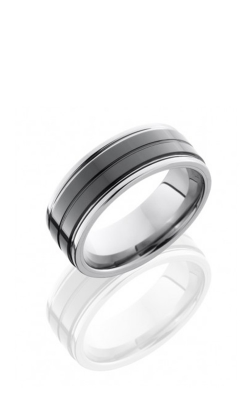 Lashbrook Tungsten Ceramic Wedding Band TCR8422-SATIN product image