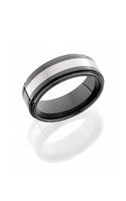 Lashbrook Tungsten Ceramic Wedding Band CT08RC048-POLISH product image