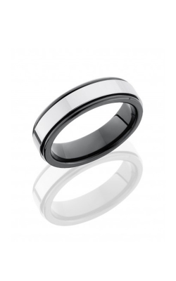 Lashbrook Tungsten Ceramic Wedding band CT06RSPCG8461 product image