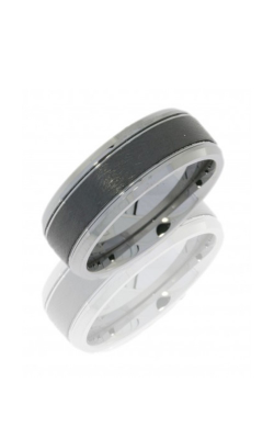 Lashbrook Tungsten Ceramic Wedding Band CT08FB9090 product image