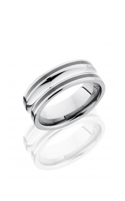 Lashbrook Tungsten Ceramic Wedding band TCR8328 product image