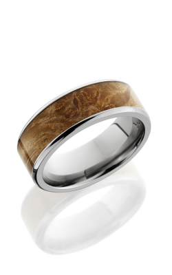 Lashbrook Hardwood Collection Wedding band HW8B16 MAPLEBURL product image