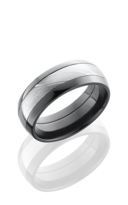 Lashbrook Zirconium Wedding Band ZPF8D14/DAMASCUS product image