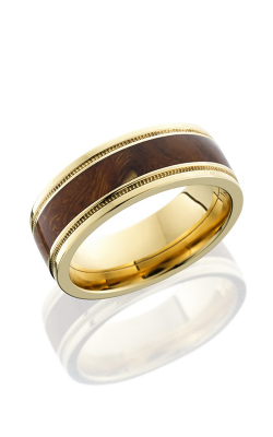 Lashbrook Hardwood Collection Wedding Band 14KYHW8FGEW2UMIL14 DIW product image