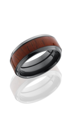 Lashbrook Hardwood Collection Wedding Band ZHW8F14 PADAUK product image