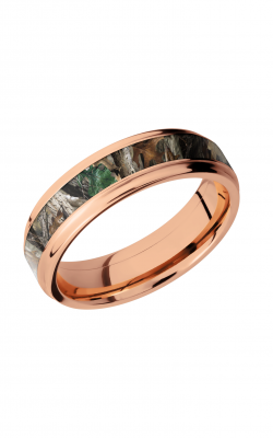 Lashbrook Precious Metals Wedding Band 14KR6FGE13_RTTIMBER product image