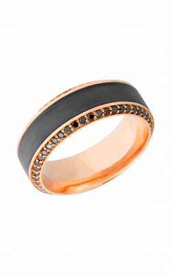 Lashbrook Zirconium Wedding Band 18KR8.5HB145 product image