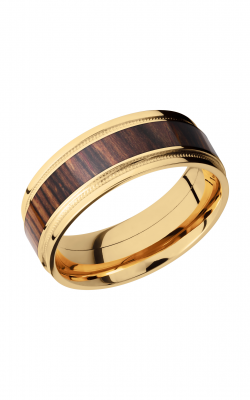 Lashbrook Hardwood Collection Wedding Band 18KYHW8FGEW2UMIL14 NATCOCO product image