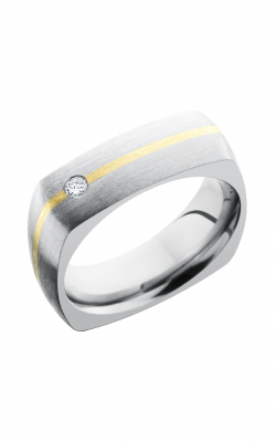 Lashbrook Titanium Wedding band 7DSQ11 14KYDIAOC 07F product image