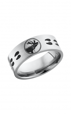 Lashbrook Titanium Wedding band 8F LCVELKTARGETTRACKS product image