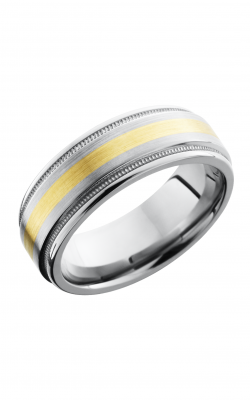 Lashbrook Titanium Wedding band 8REF2UMIL12 14KY product image