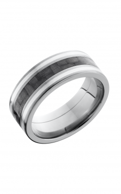 Lashbrook Carbon Fiber Wedding Band C8F1321_CFSS product image