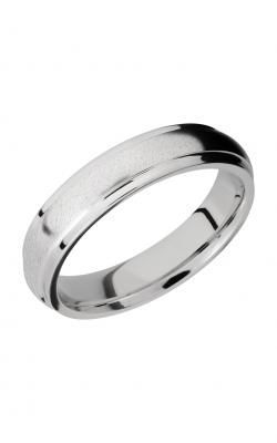 Lashbrook Cobalt Chrome Wedding band CC5DGE product image