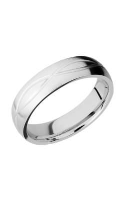 Lashbrook Cobalt Chrome Wedding Band CC6DINF product image